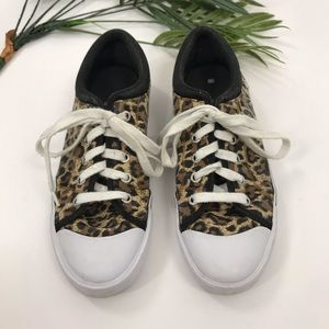G by Guess | Leopard Print Studded Sneakers